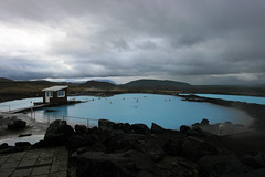Jarbin Vi Mvatn (russ david) Tags: nature pool clouds landscape iceland september explore baths myvatn vi vid mvatn 2011 jarbin jardbodin