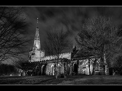 034/366 St Oswalds Winwick 2 (Mister Oy) Tags: england blackandwhite church architecture mono photo 2012 davegreen stoswalds aphotoaday 366 1aday pictureof winwick nikond700 oyphotos
