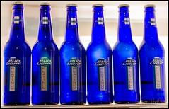 Six bottles of Beer 2012 - 036 (IamLisaLisa) Tags: blue beer bottles six budlight budweiser platinum odc