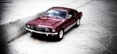 1967 Ford Mustang GTA Fast back (Beel@l) Tags: pakistan red classic ford sports car race back cobra jet fast mustang gt awan gta karachi 118 maisto beelal