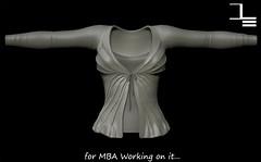 DE Designs Working on it (de_designs) Tags: de mesh sl designs belleza maitreya slink dedesigns fitmesh