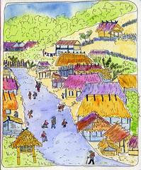 Myanmar Village (Trisha Ray) Tags: asia southeastasia monastery myanmar mawlamyine