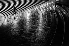drizzle (Hiro.Matsumoto) Tags: street monochrome rain japan night nikon balckandwhite stealingshadows