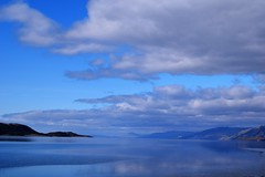 Loch Linnhe scotland (biggagrib) Tags: blue sea mountain nature water scotland heaven tranquility loch linnhe beaaty