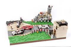 The Pickard Boulevard (brick.spartan) Tags: lego road curved race street moc crash npu model