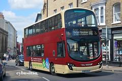 East Yorkshire 791, BP15OLE. (EYBusman) Tags: york city bus eclipse volvo coach yorkshire centre east motor wright hull gemini services fishergate x46 eyms b9tl eybusman bp15ole