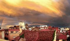 Arc de St. Mart. Malgrat de Mar. (elisabet_sans) Tags: arcoiris rainbow arcdestmart
