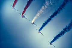 \\ (Pixelicus) Tags: sky france colors clouds french army nikon aircraft meeting fertalais patrouilledefrance d700