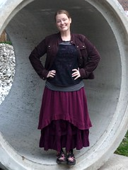 Summer 4-PAC layered up for fall (M lambie) Tags: top sewing skirt cami garments alabamachanin