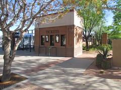 Ticket Booth at Gate F at Scottsdale Stadium -- Scottsdale, AZ, March 08, 2016 (baseballoogie) Tags: arizona baseball stadium az giants scottsdale ballpark springtraining sanfranciscogiants cactusleague baseballpark scottsdalestadium 030816 canonpowershotsx30is baseball16