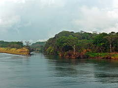 photo - Remnants of Old French Canal, Panama (Jassy-50) Tags: photo artsy panama panamacanal likeapainting frenchcanal frenchpanamacanal