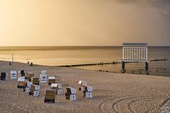 Heringsdorf_Strand (Sascha Selli) Tags: sunset beach strand germany deutschland ostsee usedom vorpommern mecklenburg strandkrbe heringsdorf strandkorm