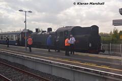 4 at Hazelhatch and Celbridge, 16/5/16 (hurricanemk1c) Tags: irish train 4 rail railway trains hatch railways irishrail 264 2016 number4 iarnrd ireann rpsi iarnrdireann wtclass railwaypreservationsocietyofireland hazelhatchandcelbridge 0900westportconnolly internationalrailtour croaghpatrickrailtour
