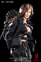 VERYCOOL TOYS VCF-2029 Black Female Shooter - 11 (Lord Dragon ) Tags: hot female toys actionfigure doll angelinajolie verycool onesixthscale 16scale 12inscale