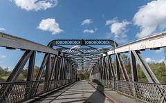 Moore Lane Swing Bridge (joanjbberry) Tags: bridge birds outdoors warrington cheshire swing moore lane moorelaneswingbridge
