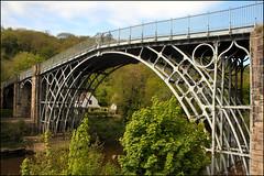The Ironbridge Iron Bridge I (Canis Major) Tags: bridge 2000 shropshire ironbridge unesco riversevern castiron 500 5000 1000 1781 ironbridgegorge gradeilisted