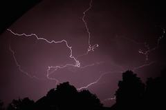 lightnings / Blitze (Ismail - humanistic misanthrope ) Tags: berlin balkon lightning gewitter thunderbolt blitze