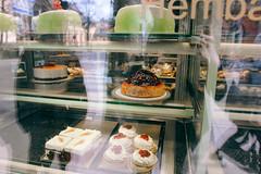 Stolckholm, Sweden (Carly.Gussert) Tags: street green cake dessert sweden stockholm bakery fika konditori