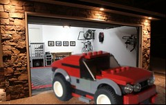 Parking (Daniel V 75) Tags: wallpaper art car sport speed star photo lego 4x4 ferrari voiture creation porsche wars paysage tuning base luxe berline moc