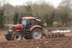 Case IH Puma 160 CVX Tractor with a Kverneland 5 Furrow Plough (Shane Casey CK25) Tags: county ireland red horse irish plant tractor field set turn work pull hp nikon power earth 5 farm cork farming working cereal machine ground case machinery soil dirt international till crop crops farmer puma agriculture dust setting cereals pulling contractor plough turning planting sow sod harvester ih horsepower tilling ploughing 160 furrow sowing cnh agri conna tillage cvx kverneland d7100 casenewholland turningsod turnsod stubbleplough
