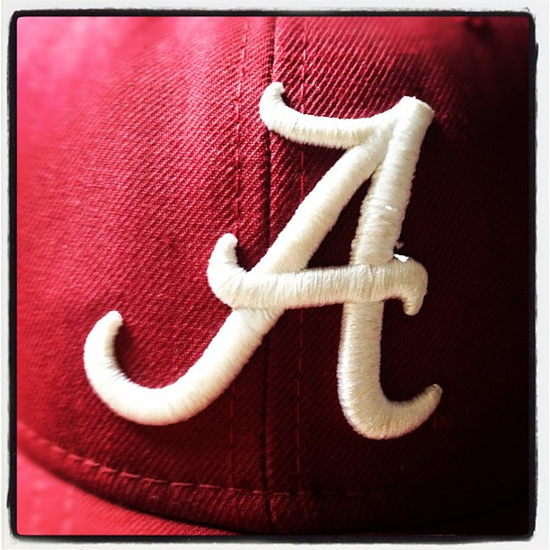 Ready for the IRON BOWL. #rolltide