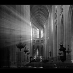 Advent (hgviola ) Tags: christmas xmas windows bw france natal weihnachten licht nikon frankreich advent fenster gothic kathedrale kirche stainedglass noel bn sw loire gothique eglise nantes cathedrale gotik fenetres kirchenfenster 18200mm d80