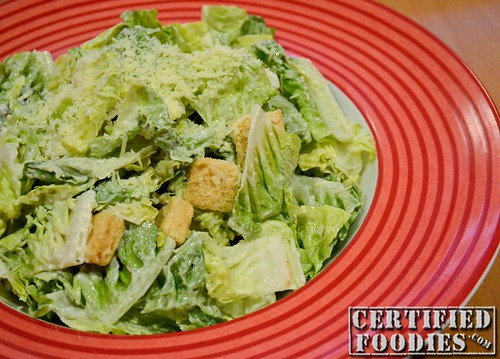 T.G.I. Friday's Caesar Salad - CertifiedFoodies.com
