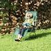 Frau im Stuhl