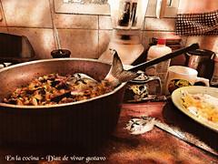 En la cocina - Diaz de vivar gustavo (Diaz De Vivar Gustavo) Tags: en de la arte aires cocina gustavo adri diaz ranelagh ferrn vivar buenios desconstruida