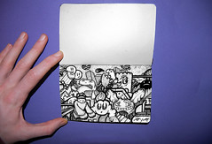 Day one hundred and twenty five (Sam-Cox) Tags: original urban white abstract black art illustration pencils photography graffiti book design sketch insane crazy intense artwork graphics artist sam drawing contemporary character teeth small cartoon creative drawings style obsession sketchbook fresh aliens every cox and characters monsters organic colourful draw pens mad inspirational heavy creature a5 cartoons depth bold compact chunky sleepless moleskin obsessed miniscule everdyay