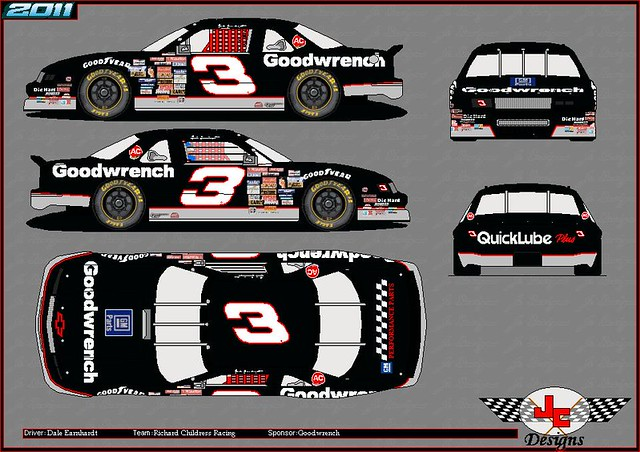 gm cola dale chevy coca earnhardt 1990 goodwrench