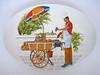 Melmac Ornamin Ware Plate (Fox & Thomas) Tags: vintage plate 1950s 1960s melmac melamine ornamin