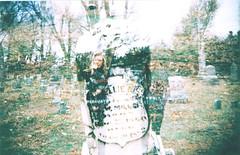 (Azarah Eells) Tags: film cemetery graveyard 35mm photography site holga lomography doubleexposure dreams sooc eells azarah azaraheells