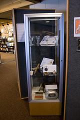 Display Cases (IvanTortuga) Tags: usa glass metal mi unitedstates michigan case artifacts artefacts negaunee miim michiganironindustrymuseum