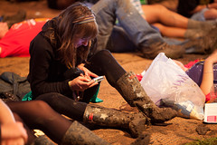 Gadget (MrGiles) Tags: girl festival mud glastonbury wellies astrolabe theatretent eos5dii glastonburyfestival2011