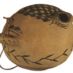 "<b>Sphere Shaped Vessel with Two Handles and Opening</b><br/> ""Sphere Shaped Vessel with Two Handles and Opening""  Earthenware, n.d. (Pre-Columbian) LFAC #727<a href=""http://farm8.static.flickr.com/7147/6466101673_c1a805e3b9_o.jpg"" title=""High res"">∝</a>"