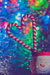 candy cane love (cheng bee) Tags: bokeh candycane explored 4952 d700 nikkor105mmf28gvrmicro dec2011 mcpproject52 dpsbokeh