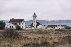 Point Wilson Lighthouse 1 (Pastv4) Tags: water clouds lighthouses sony overcast fortworden wa pugetsound washigton masoncounty beaconoflight admiraltyinlet pointwilsonlighthouse lighthousesofwashingtonstate sonya55v
