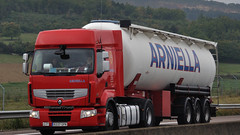 E - Arniella Renault Premium 450 (BonsaiTruck) Tags: renault silo camion trucks premium bulk lorries lkw spitzer citerne powdertank arniella