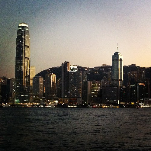 Hong Kong at Dusk