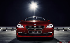 Vermillion Red.. (Luuk van Kaathoven) Tags: red night bmw van coupe vermillion luuk autogetestnl 640i luukvankaathovennl autogetest kaathoven