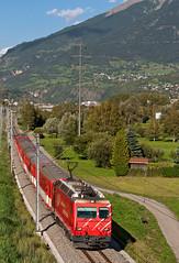 MGB HGe4/4'' 2 (maurizio messa) Tags: railroad switzerland railway trains svizzera bahn wallis mau valais mgb ferrovia treni schmalspurbahn bvz nikond90 r257 hge44
