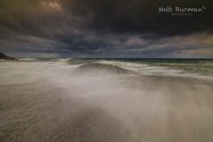 SMOOTH SAILING! (matt burman) Tags: ocean morning sunset sea seascape storm water night clouds sunrise landscape flow dawn rocks surf waves pentax dusk tide australia nsw surge swell k7