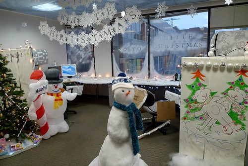 Wonderful Office Christmas Decorating Contest  Flickr  Photo Sharing