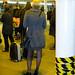 London Bridge Station - Dec 2011 - Candid Blonde with Patent Shoes
