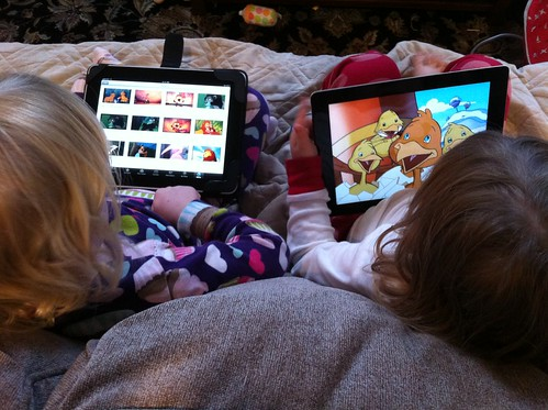 The modern toddler iPad experience by Wayan Vota, on Flickr