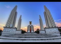 Democracy Monument (Plate 2) | Bangkok