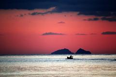 Un altro giorno  passato. (tremmysan ) Tags: tramonto ponza isola sabaudia