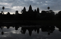Angkor Wat in Dark