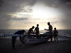 iphone / Cottesloe rowers heading out for some training (saminsarawak) Tags: life sunset summer beach water boat surf australia row perth cottesloe lecture westernaustralia lifesaver rower iphone saver surfclub northcottesloe iphone4